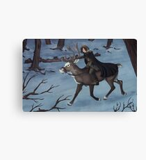 Nordic Forest Canvas Print