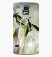 Subtle Snowdrop Case/Skin for Samsung Galaxy