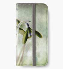 Subtle Snowdrop iPhone Wallet/Case/Skin