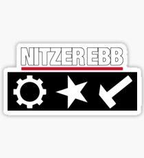 Pegatina Nitzer Ebb