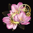 Pink Blossom  by Yulianna-ca
