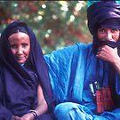 Mohamadou and Aissa, Niamey, Republic of Niger by Valarie Napawanetz