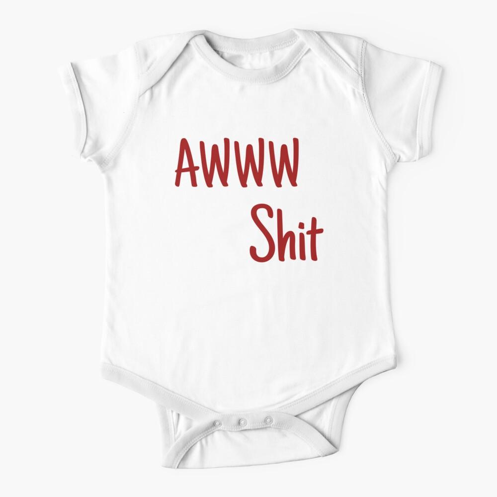 AWWW Scheiße Baby Body