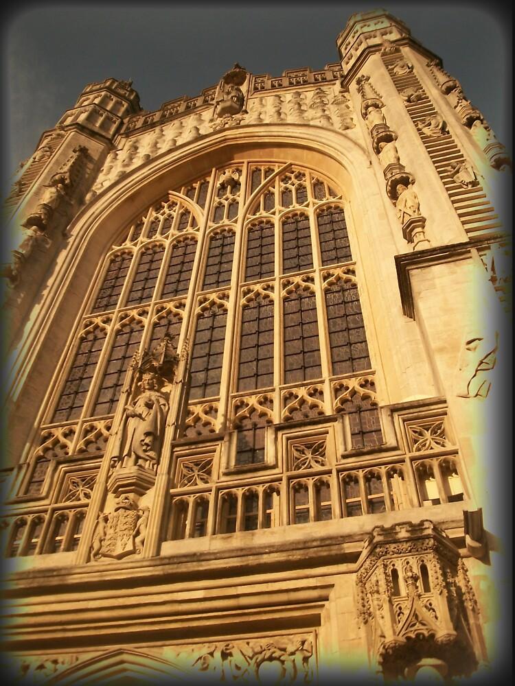 Bath Abbey, Bath, UK by douglasewelch