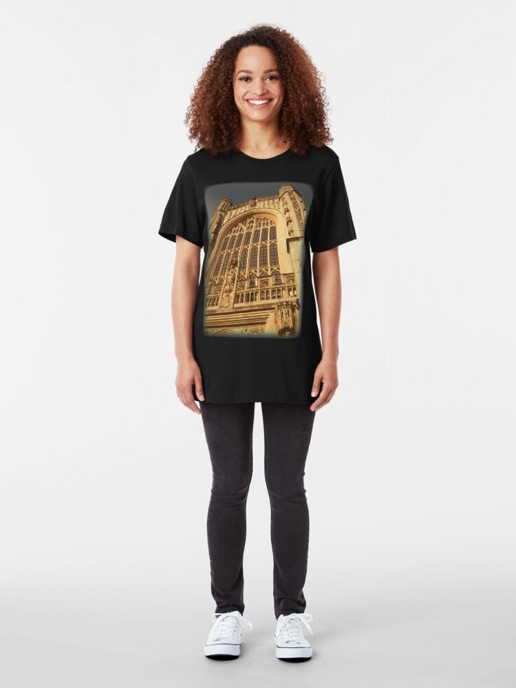 Alternate view of Bath Abbey, Bath, UK Slim Fit T-Shirt