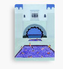 Scallop Pool Canvas Print