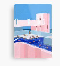 Spain Pool Metal Print