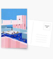 Spanien Pool Postkarten