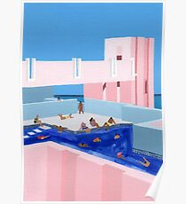 Spanien Pool Poster