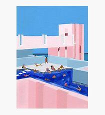 Spanien Pool Fotodruck