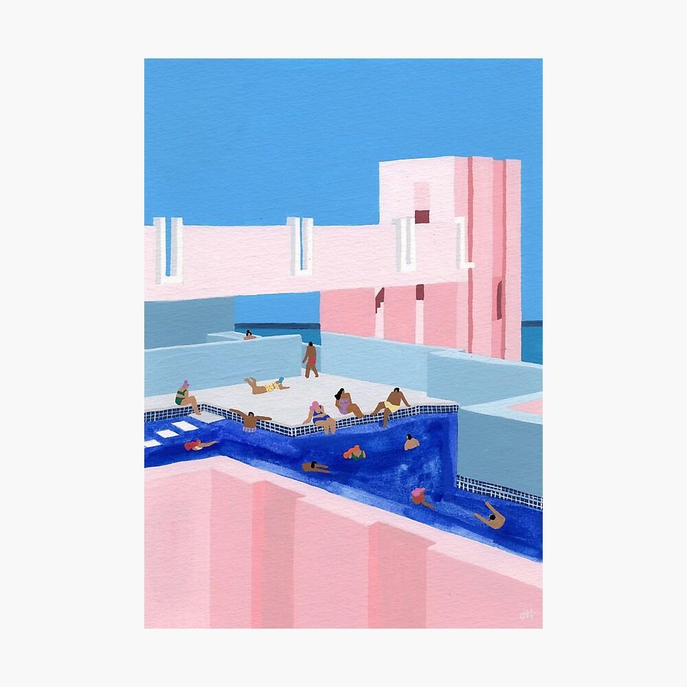 Spain Pool Photographic Print