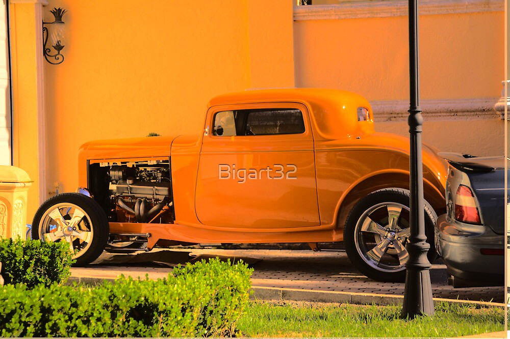 Antique car by Bigart32