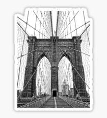 Pegatina puente de Brooklyn