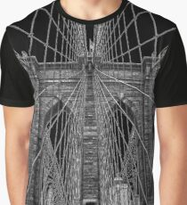 Brooklyn Brücke Grafik T-Shirt