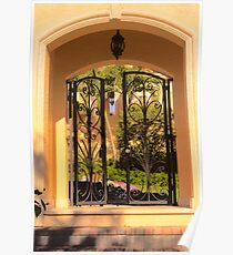 Gated entry Poster