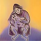Mother. Woman and doll by Magazin-Brenda