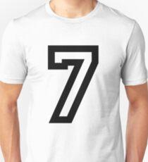 Nummer sieben Slim Fit T-Shirt