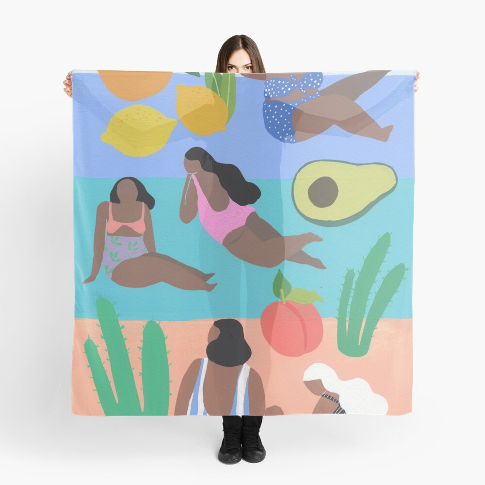 Fruity beach Scarf