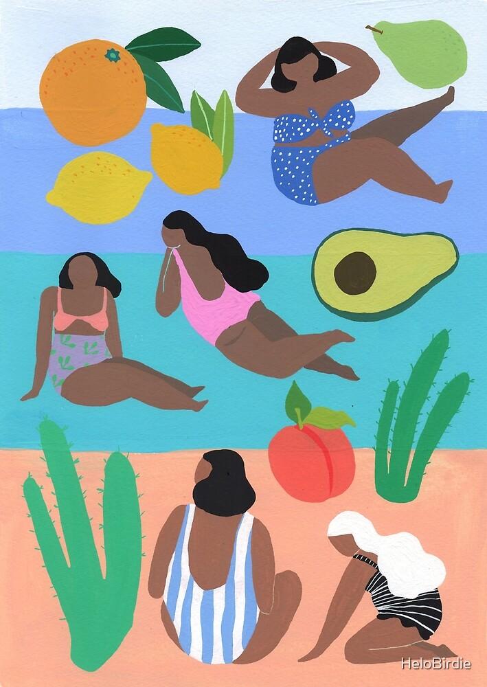 Fruity beach by HeloBirdie