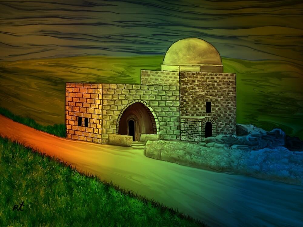 Rachel's Tomb by rafi talby by RAFI TALBY