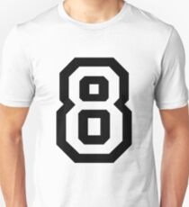 Nummer acht Slim Fit T-Shirt