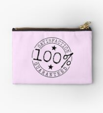 Satisfaction 100% Guaranteed by Chillee Wilson Studio Pouch