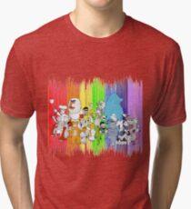 The Rainbow Connection Tri-blend T-Shirt