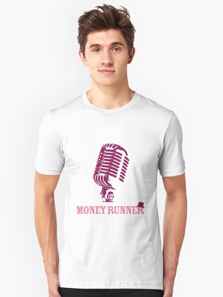 Moneyrunner - Mic T-shirt by Stephen Wildish
