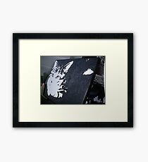 Rigby canvas Framed Print