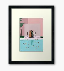 Middle Eastern dip Framed Print