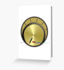 PTM [pä.ˈtenSHən.ˈmētər] ® by RootCat (gold) Carte de vœux