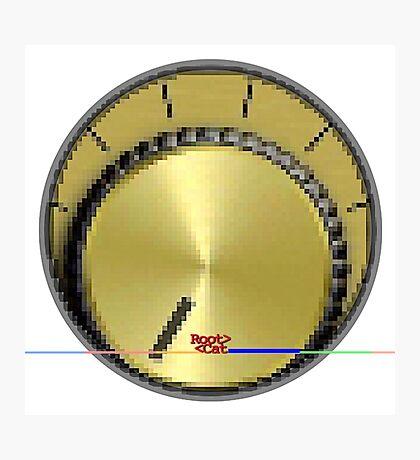 PTM [pä.tenSHən.mētər] ® by RootCat (gold) Photographic Print