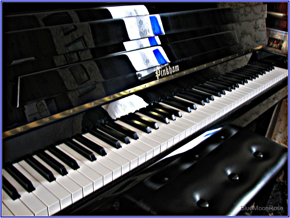 Piano Blues by BlueMoonRose