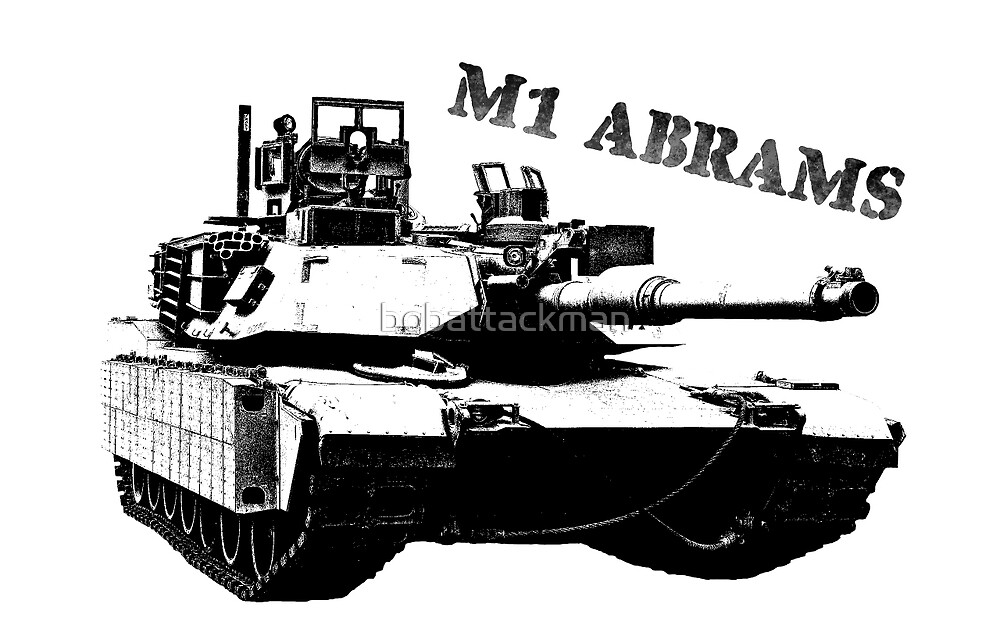 M1 ABRAMS by bobattackman