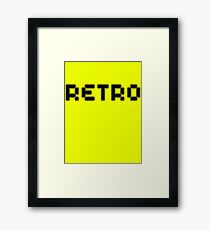 Retro by Chillee Wilson Framed Print