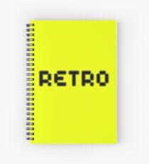 Retro by Chillee Wilson Spiral Notebook