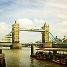 Tower Bridge and the River Thames by Jonicool