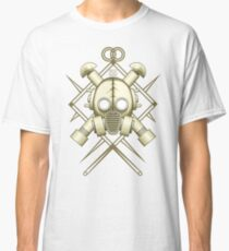 Tribal retro gasmask Classic T-Shirt