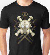 Tribal retro gasmask T-Shirt