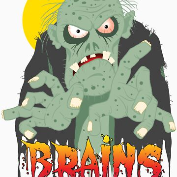 Zombie BRAINS by greatgoblin