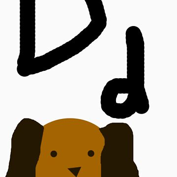Dd for Dog by Whittles