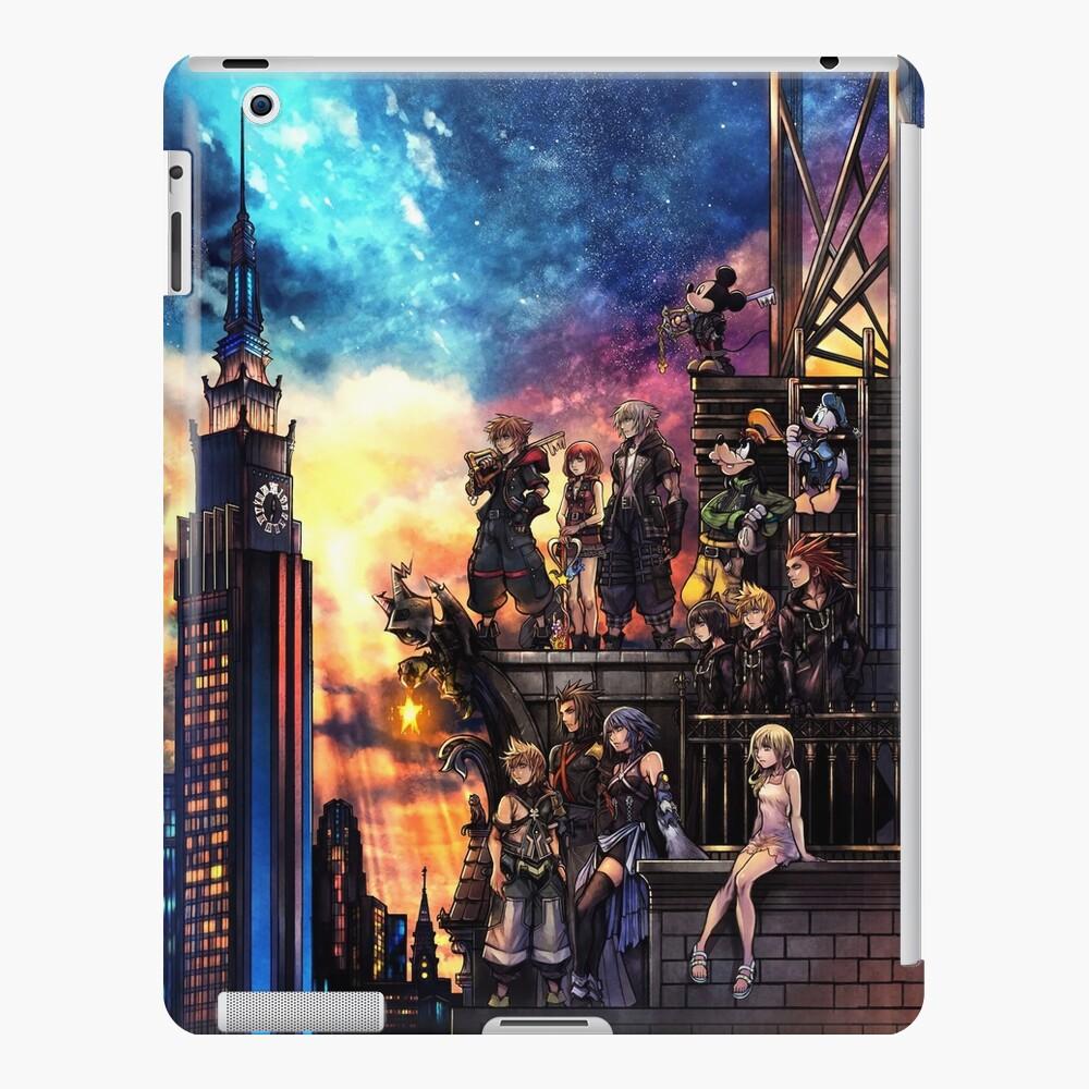Portada de Kingdom Hearts 3 Funda y vinilo para iPad