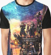 Königreich Herzen 3 Cover Grafik T-Shirt
