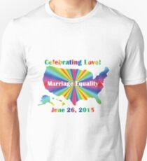 Celebrating Love Unisex T-Shirt