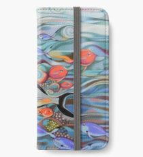 Memory of the coral reef iPhone Wallet/Case/Skin