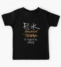 Camiseta para niños ROSA HERMOSO TRAUMA TOUR MUNDIAL 2019
