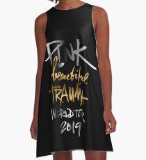 PINK BEAUTIFUL TRAUMA WORLD TOUR 2019 A-Line Dress