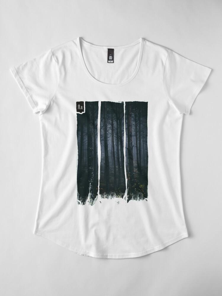 Alternative Ansicht von Blinde Geister Frauen Premium T-Shirt