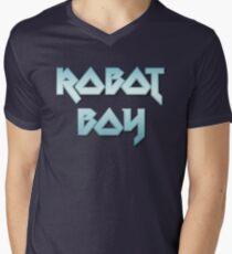 ROBOT BOY by Chillee Wilson Men's V-Neck T-Shirt
