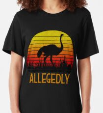 Allegedly Ostrich Slim Fit T-Shirt